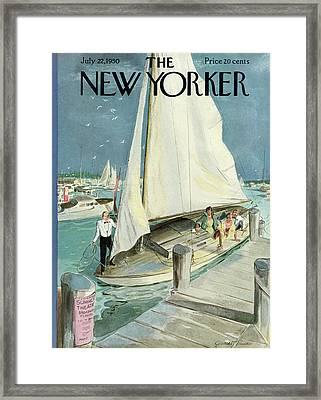 New Yorker July 22nd, 1950 Framed Print