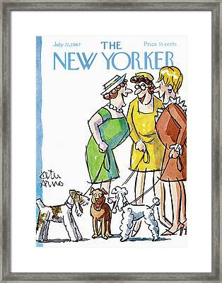 New Yorker July 22nd, 1967 Framed Print