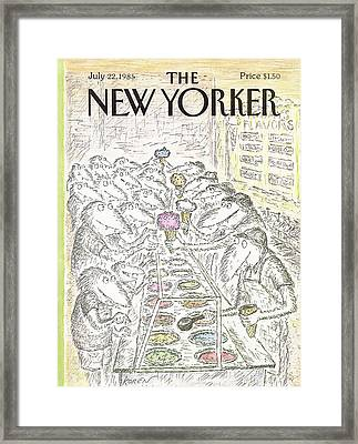 New Yorker July 22nd, 1985 Framed Print