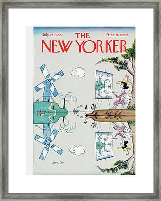 New Yorker July 23rd, 1966 Framed Print