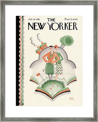 New Yorker July 24th, 1926 Framed Print by Ralph Jester