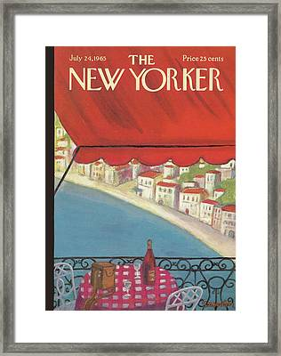 New Yorker July 24th, 1965 Framed Print by Beatrice Szanton