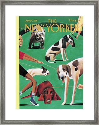 New Yorker July 24th, 1995 Framed Print