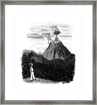 New Yorker July 24th, 1995 Framed Print by Warren Miller