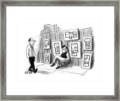 New Yorker July 25th, 1988 Framed Print