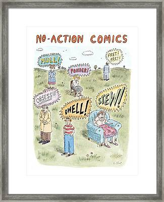 New Yorker July 26th, 1999 Framed Print by Roz Chast