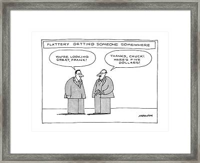 New Yorker July 28th, 1986 Framed Print by Mick Stevens