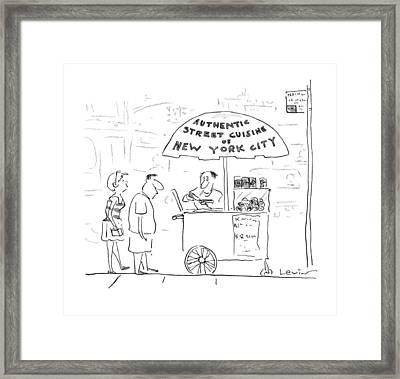 New Yorker July 29th, 1996 Framed Print