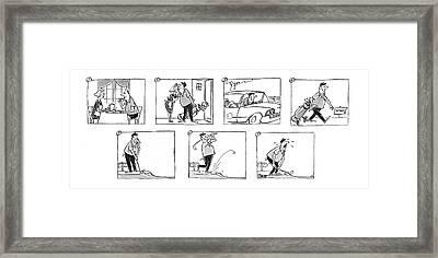 New Yorker July 2nd, 1960 Framed Print