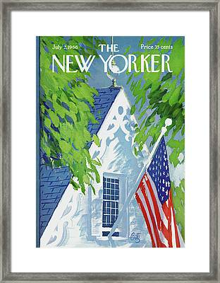 New Yorker July 2nd, 1966 Framed Print