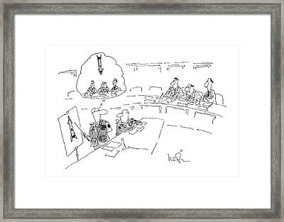 New Yorker July 2nd, 1979 Framed Print by Arnie Levin
