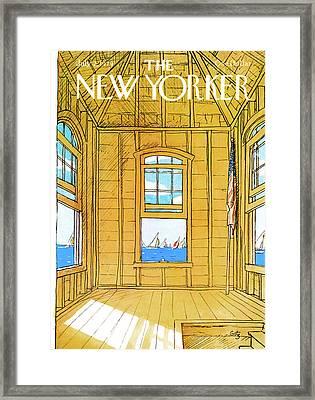 New Yorker July 2nd, 1979 Framed Print