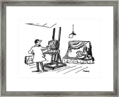 New Yorker July 30th, 1990 Framed Print