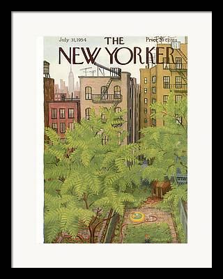 Staten Island Framed Prints
