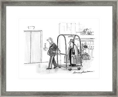 New Yorker July 4th, 1988 Framed Print by Bernard Schoenbaum