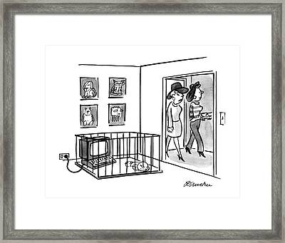New Yorker July 4th, 1988 Framed Print