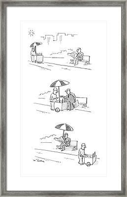 New Yorker July 4th, 1988 Framed Print