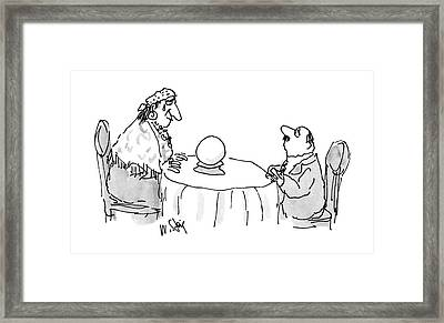 New Yorker July 4th, 1988 Framed Print by William Steig
