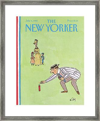 New Yorker July 5th, 1982 Framed Print