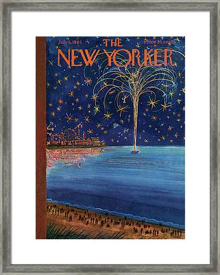 New Yorker July 6th, 1963 Framed Print