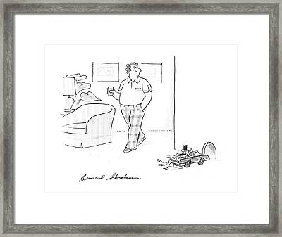 New Yorker July 6th, 1987 Framed Print by Bernard Schoenbaum