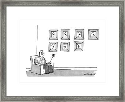 New Yorker July 8th, 1991 Framed Print by Mick Stevens