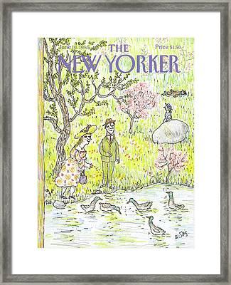 New Yorker June 10th, 1985 Framed Print