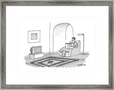 New Yorker June 10th, 1991 Framed Print