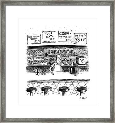 New Yorker June 10th, 1991 Framed Print by Roz Chast