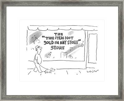New Yorker June 10th, 1996 Framed Print by Arnie Levi