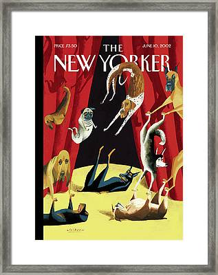 New Yorker June 10th, 2002 Framed Print