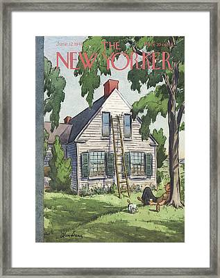 New Yorker June 12th, 1948 Framed Print