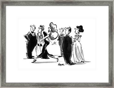 New Yorker June 12th, 1995 Framed Print
