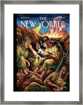 New Yorker June 12th, 2006 Framed Print