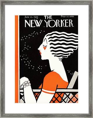 New Yorker June 13th, 1925 Framed Print