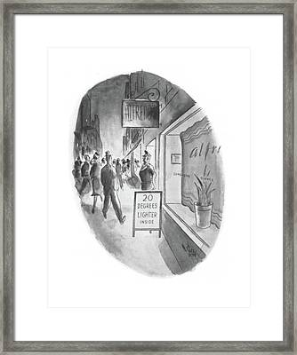 New Yorker June 13th, 1942 Framed Print by Ned Hilton