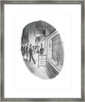 New Yorker June 13th, 1942 Framed Print