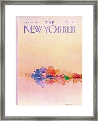 New Yorker June 13th, 1983 Framed Print by Susan Davis