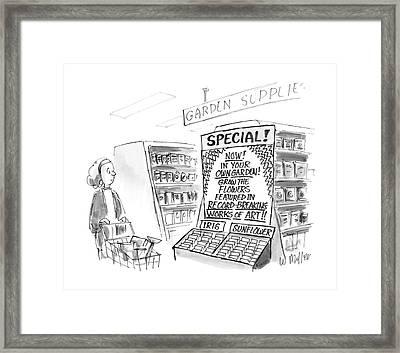 New Yorker June 13th, 1988 Framed Print by Warren Miller