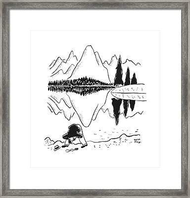 New Yorker June 14th, 1941 Framed Print