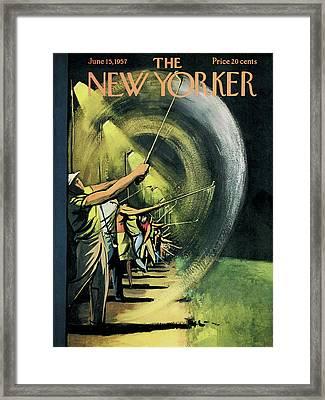 New Yorker June 15th, 1957 Framed Print