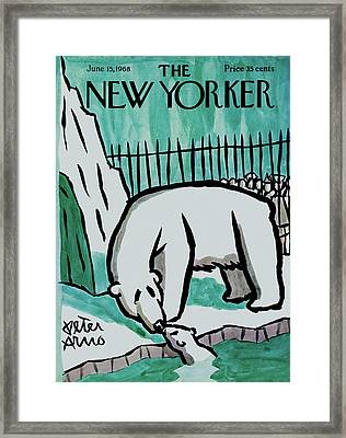 New Yorker June 15th, 1968 Framed Print by Peter Arno