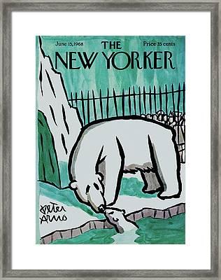 New Yorker June 15th, 1968 Framed Print