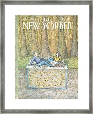 New Yorker June 15th, 1992 Framed Print by John O'Brien