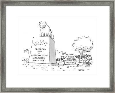 New Yorker June 15th, 1998 Framed Print