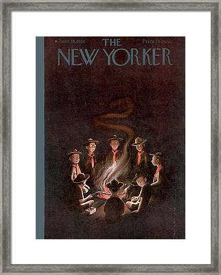 New Yorker June 16th, 1951 Framed Print