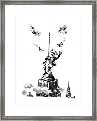 New Yorker June 16th, 1997 Framed Print
