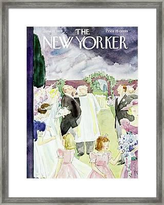 New Yorker June 17 1939 Framed Print