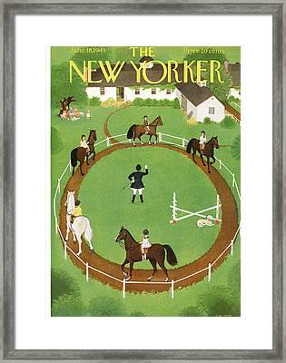 New Yorker June 18th, 1949 Framed Print