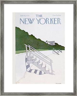 New Yorker June 18th, 1979 Framed Print by Gretchen Dow Simpson